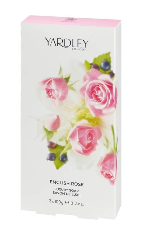 סבון יוקרתי בריח ורד אנגלי